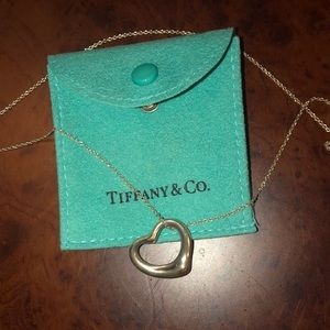 Tiffany&Co heart necklace